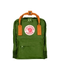 FJALLRAVEN KANKEN Mini 後背包 Leaf Green-Burnt Orange葉綠/焦橘#23561-615-212